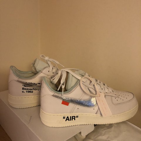 ad1cc128c2cb19 Nike x Off White AF1 Complexcon Edition! Not part of  the - Depop