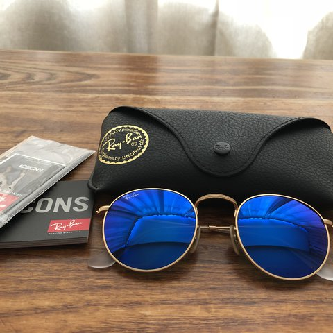 749923b47ac Genuine Ray Ban Round Metal Sunglasses