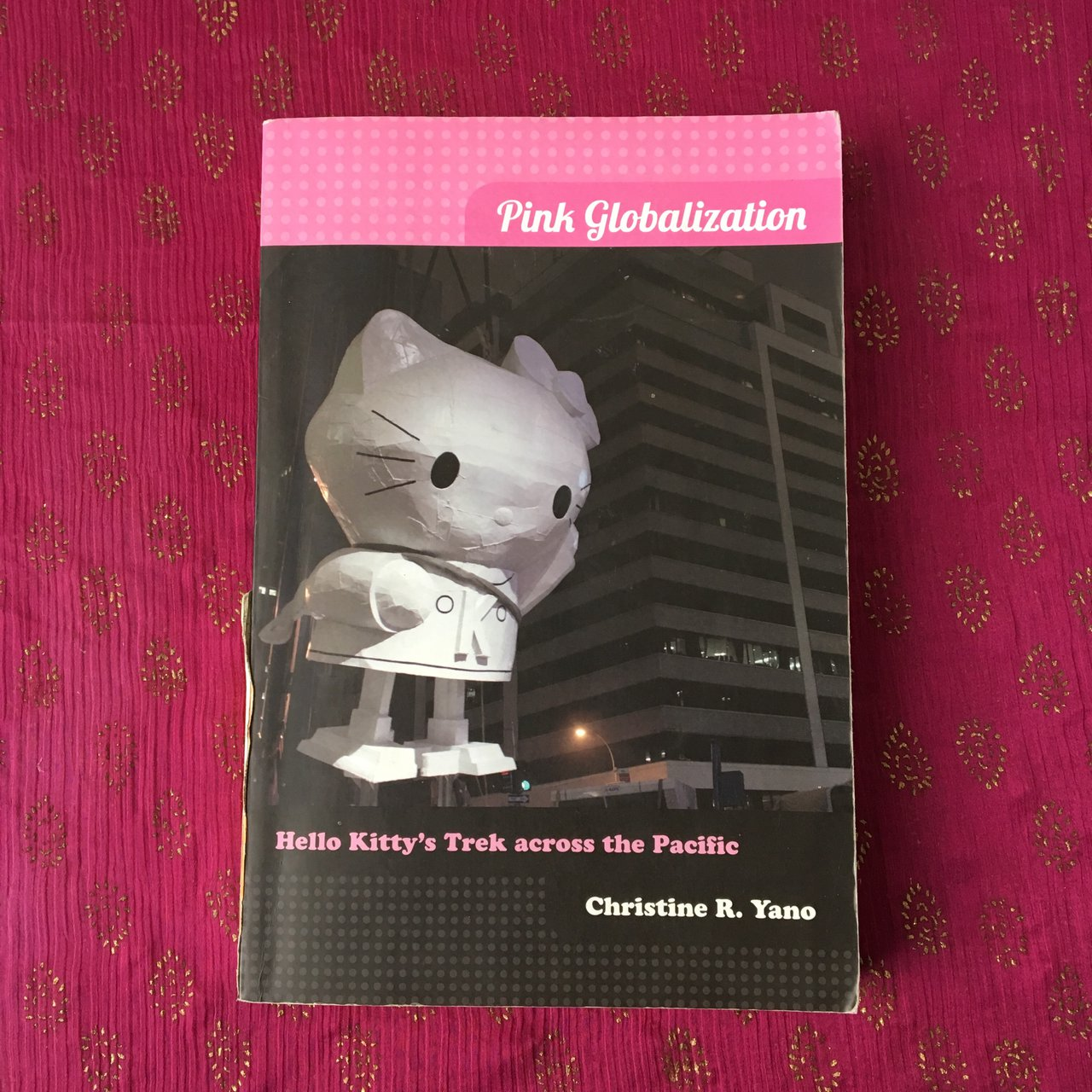 pink globalization hello kittys trek across the pacific by christine yano the spread of japanese cul This fall, she is set to take la by storm, with a full-blown retrospective of kitty art, merch and fashion at the japanese american national museum, which opens in mid-october two weeks later, the first ever hello kitty con , will be held at the museum of contemporary art.