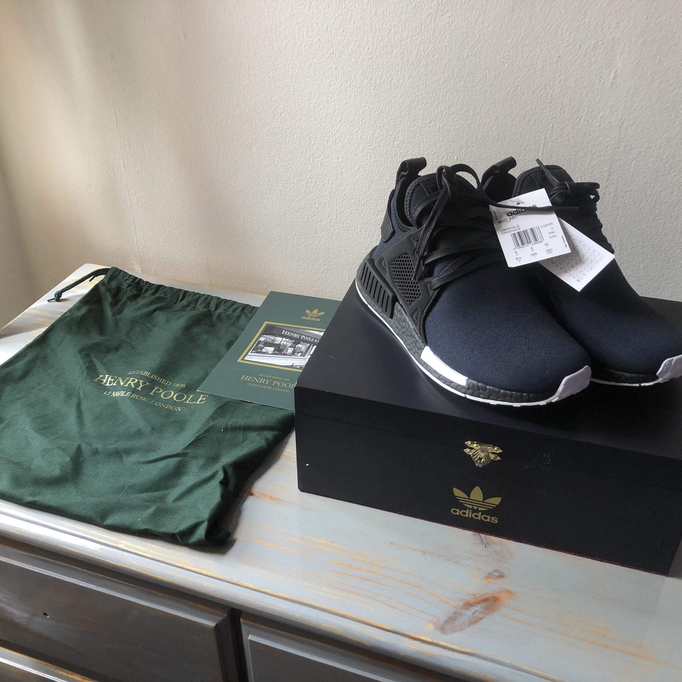 huge discount 32150 7e132 Adidas x Henry Poole NMD XR1 LIMITED EDITION Size?... - Depop