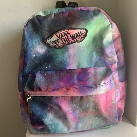 2801823d86b @camillemcc. 2 months ago. Shorewood, United States. Vans galaxy backpack.  Perfect for a school bag! Originally $50