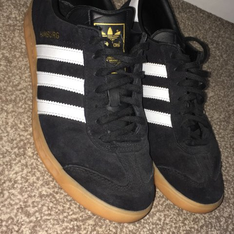 c0ac10ca7815 @ngregory687. 11 months ago. Exeter, United Kingdom. Adidas men's Hamburg  suede & leather sneakers size ...