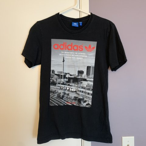 the latest 2ad98 fc4d3 Adidas black t shirt with- 0