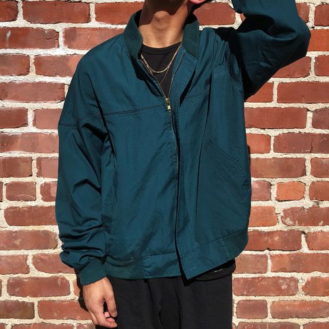 92106784da  pattypooh. 10 months ago. United States. Super cute Vintage Hill   Archer Army  Green Windbreaker bomber jacket!!!