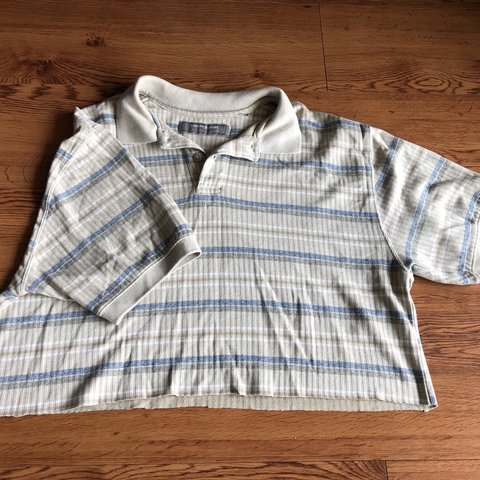 208198dcd95 @luarenf. 8 hours ago. San Marcos, United States. Vintage striped polo crop  top 💟