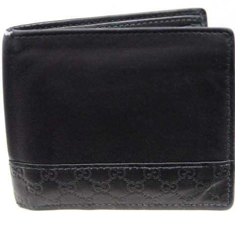 fa5ea14affc Authentic Gucci Microguccissima Black Leather Wallet 100% 1 - Depop