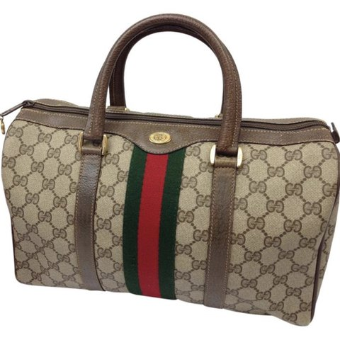 05307be2f965 Purchased from Tradesy! AUTHENTIC Gucci boston bag. Made a - Depop