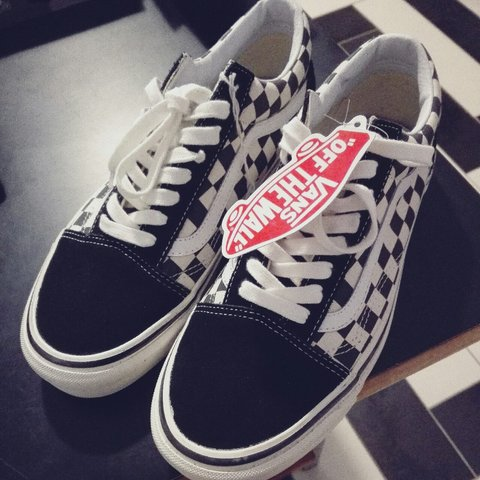 e3a3659555 NEW IN - NOS VANS OLD SKOOL CHECK