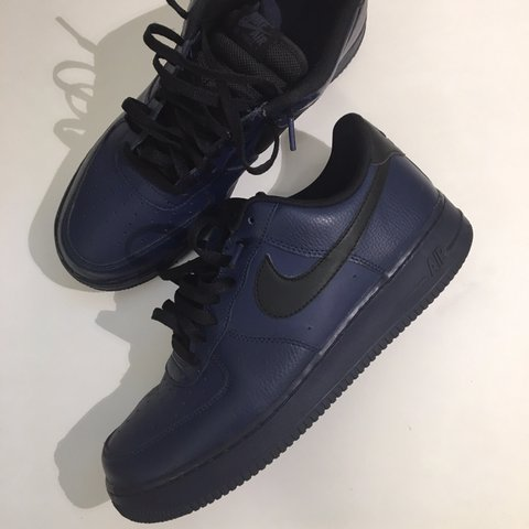 first rate 091a4 0d4ca  yayareavintage. last year. Oakland, United States. Navy Blue and Black  Nike Air Force 1