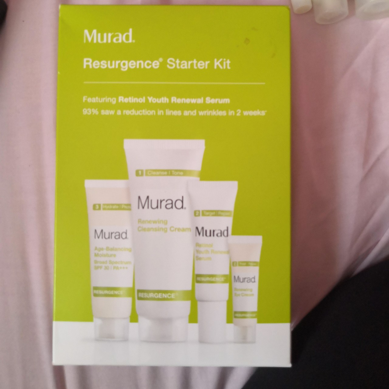 Murad Resurgence Starter Kit Featuring Retinol Youth    - Depop