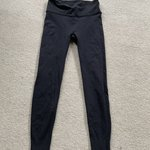 44a5a8580d71d6 Black Lululemon leggings. They are hemmed so the inseam is - Depop