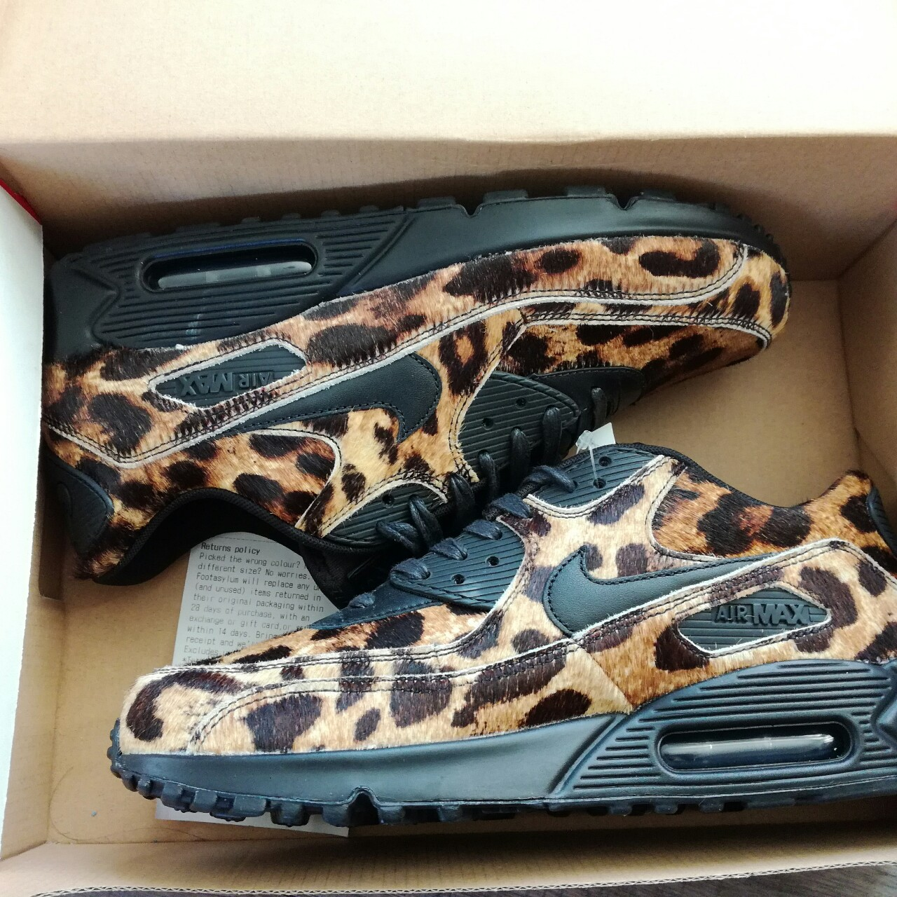 OFFERS AROUND £140 Nike air Max 90 pony hair Depop