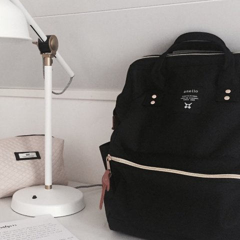 caaf08f370f8 BLACK ANELLO BACKPACK✨🍡  ALREADY ON HOLD! SORRY   PLEASE ME - Depop