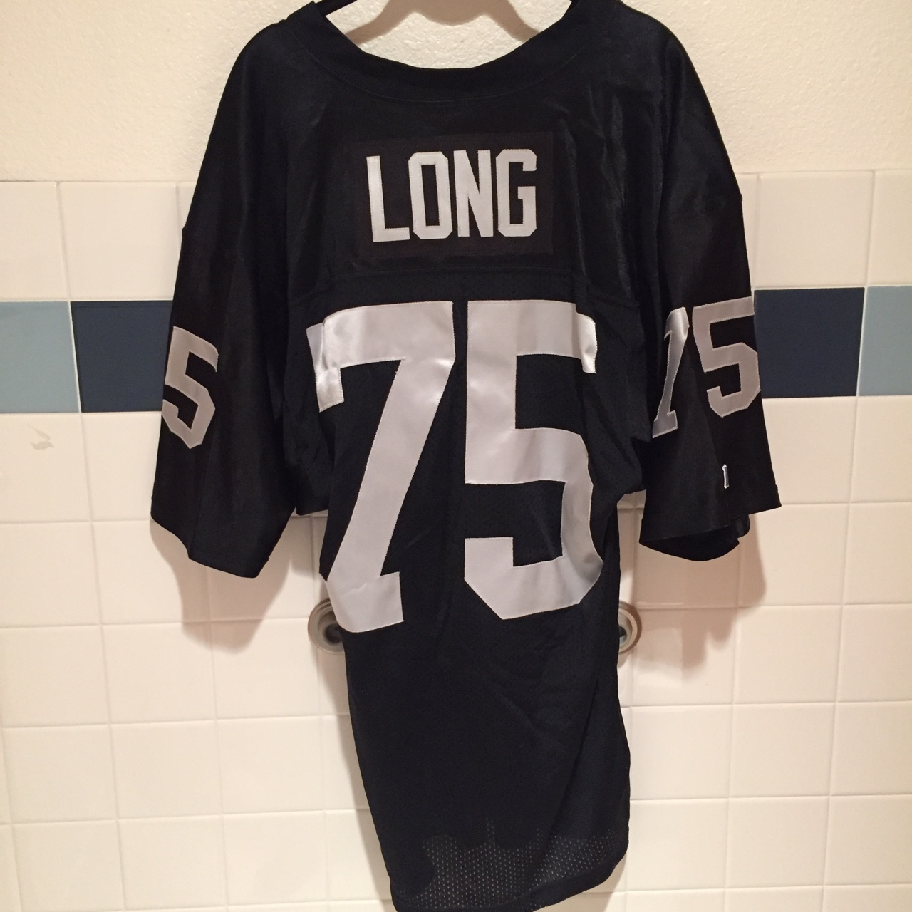 buy online d9822 9775a HOWIE LONG RAIDERS THROWBACK JERSEY RUSSELL ...
