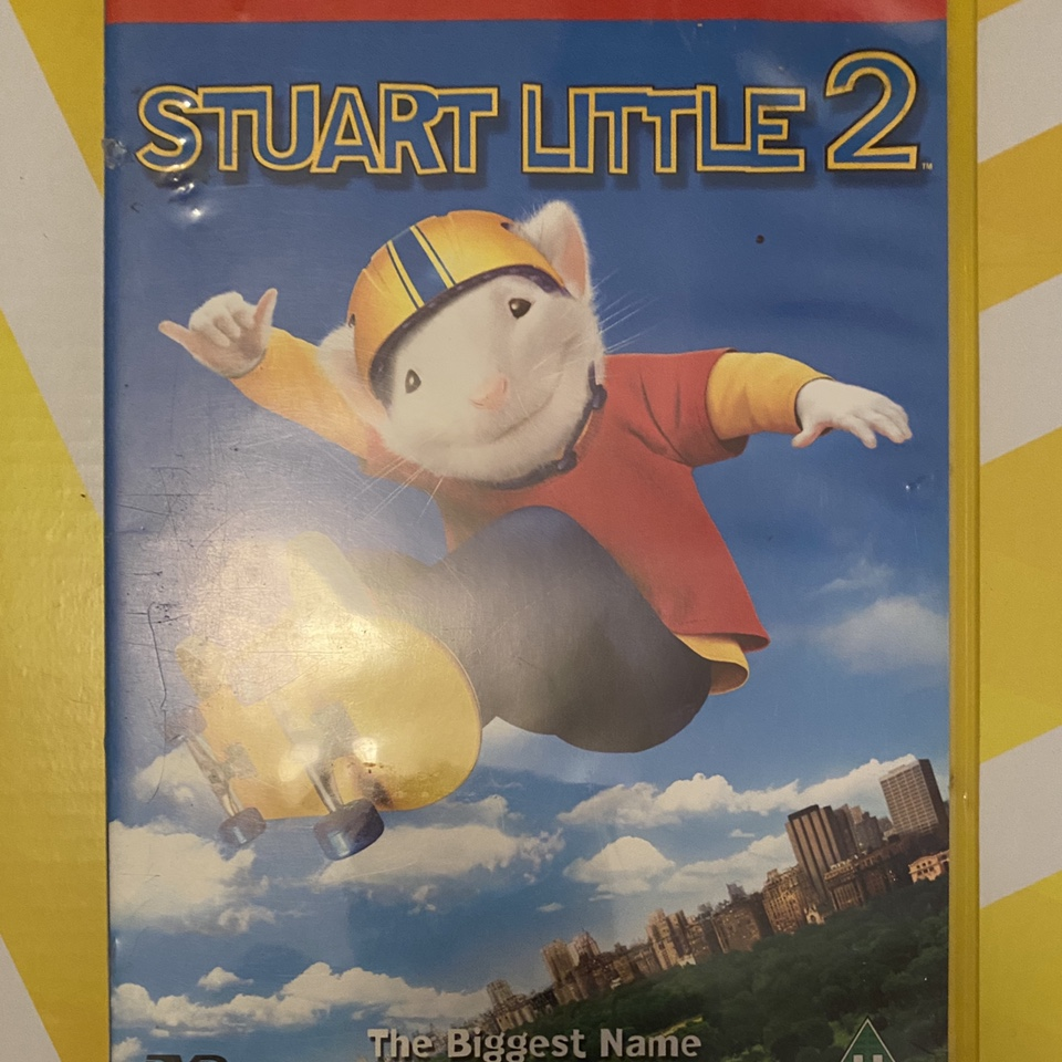 Stuart Little 2 2002 Michael J Fox Dvd Depop