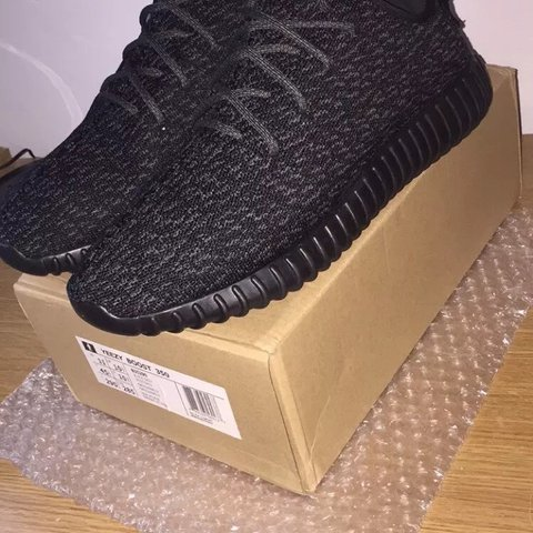 9989adcc82adf Pirate Black Yeezy Boost 350 Size 9.5 UK And Never Worn In - Depop