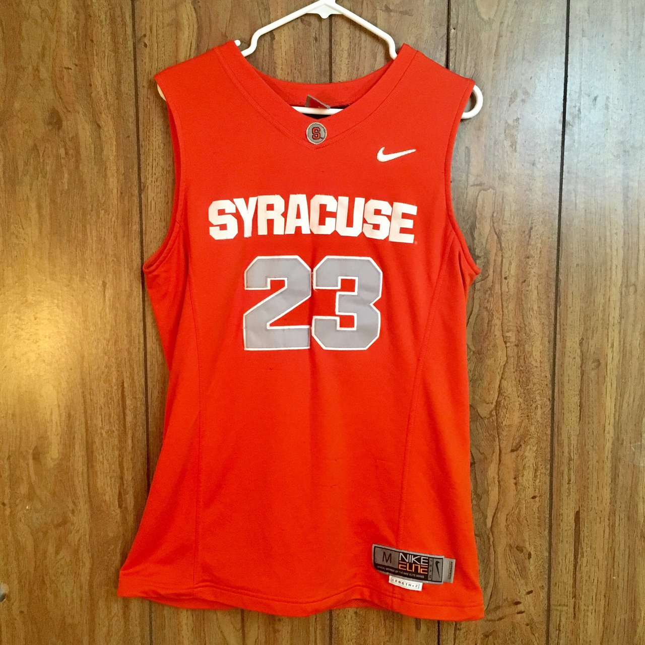 Syracuse Orange Men S Basketball Jersey 23 Authentic With Depop