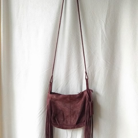 Brand  Mossimo Supply Co. Color  Burgundy Material  is a bag - Depop fcc067856ef17