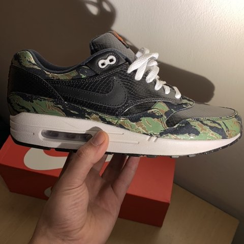 huge selection of 23261 846d8  giommixz. 3 months ago. London, United Kingdom. Atmos x Nike Air Max 1 PRM  Tiger Camo ...