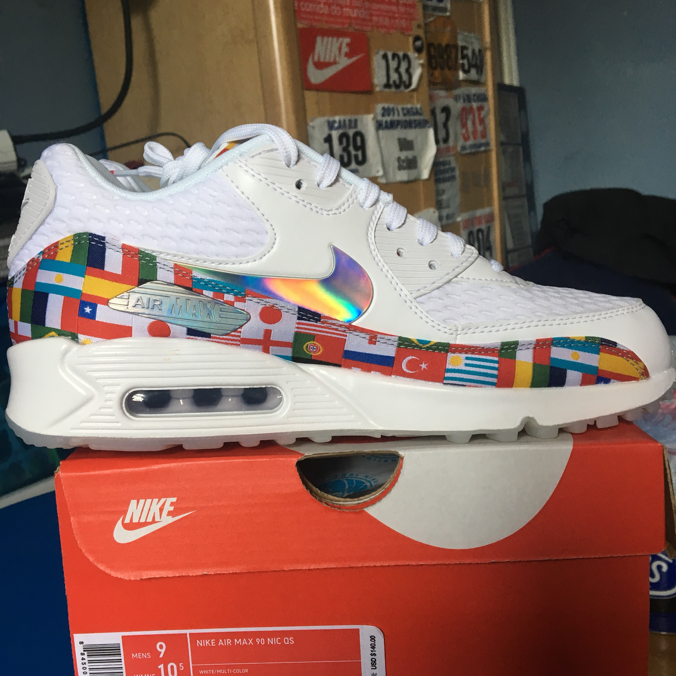 the latest 97ba0 1bd86 ON HOLD DO NOT BUY NIKE AIR MAX 90 WORLD CUP... - Depop