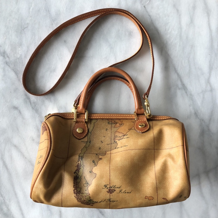 Alviero Martini small satchel bag. World map print... - Depop on map shoes, map luggage, map boots, map crossbody, map skirt, map phone case, map jacket, map scarf, map white, map trunk, map suitcase, map wallet, map sweater,