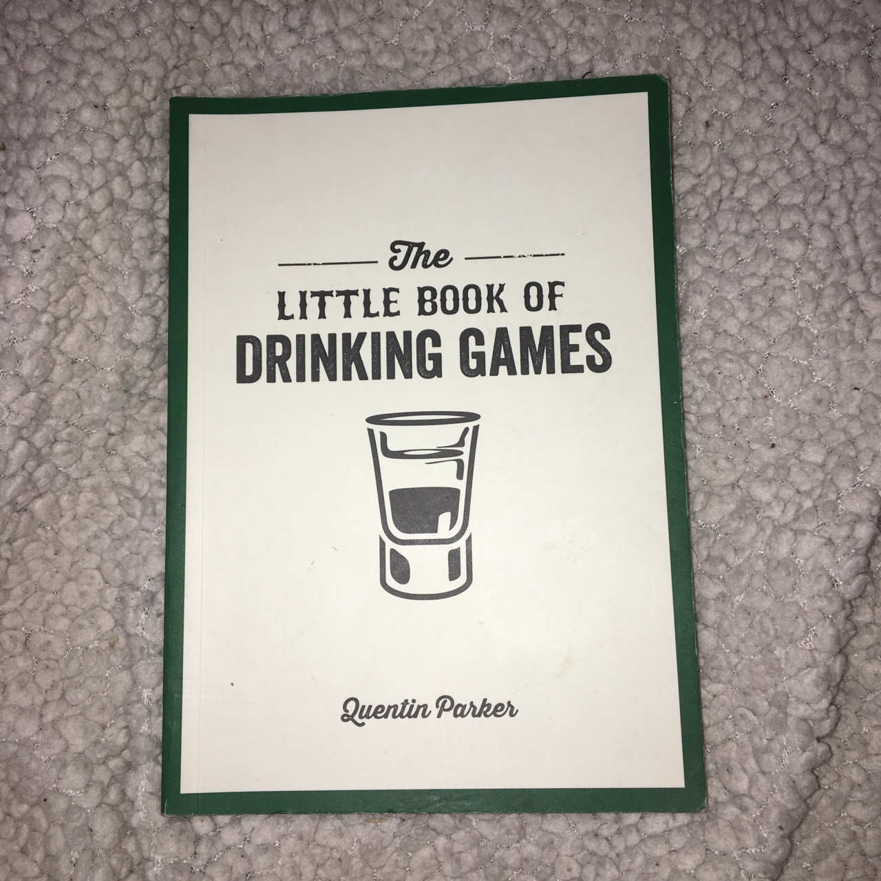 The little book of drinking games, perfect for    - Depop
