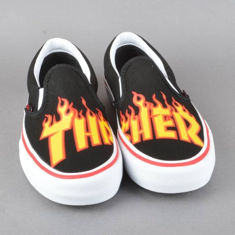 44bdbae1ea8 Thrasher vans size 9 in men s Brand new with tags Awesome - Depop