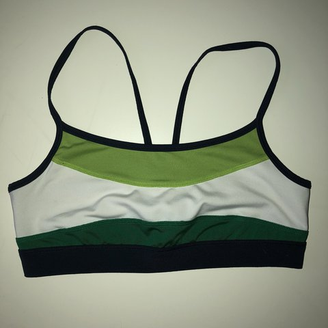 Green Aerie Sports Bra Lightly Worn And In Excellent Me If Depop