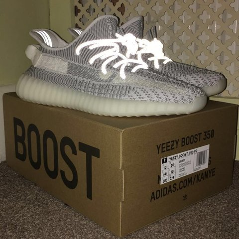 8a0df966794 Adidas Yeezy Boost 350 V2 Static NON Reflective UK size 10. - Depop