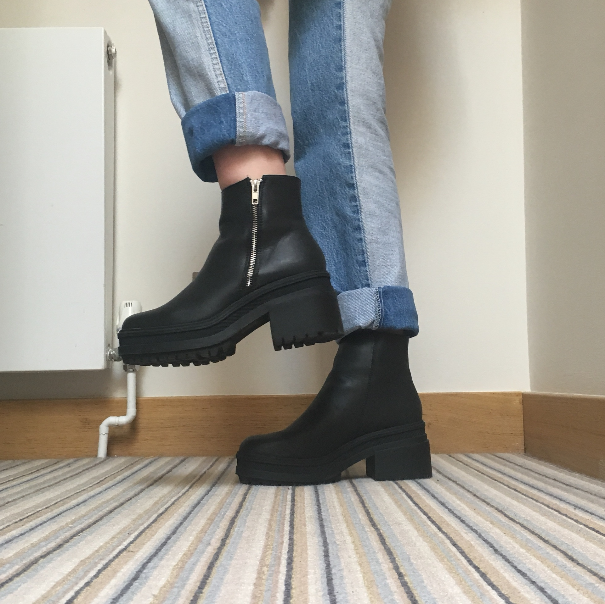 ASOS RAPID Chunky Ankle Boots Only worn