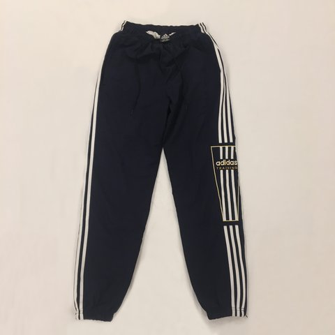75529bc542aae Vintage Adidas Training Tracksuit Bottoms < Perfect size - Depop