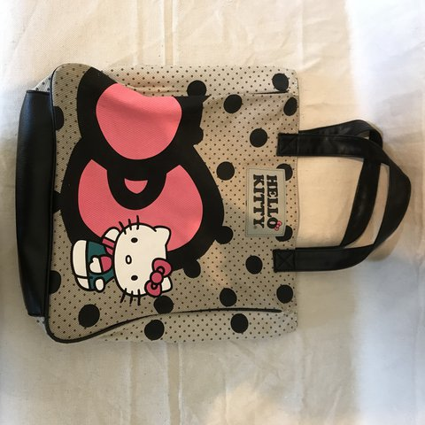 c0b56e1f2 Oversized Hello Kitty Tote bag. Hardly used!!!! #womens - Depop