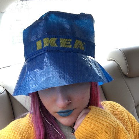 e564fda642b26 ... where to buy ikea frakta bag bucket hat handmade to order by me. one 12