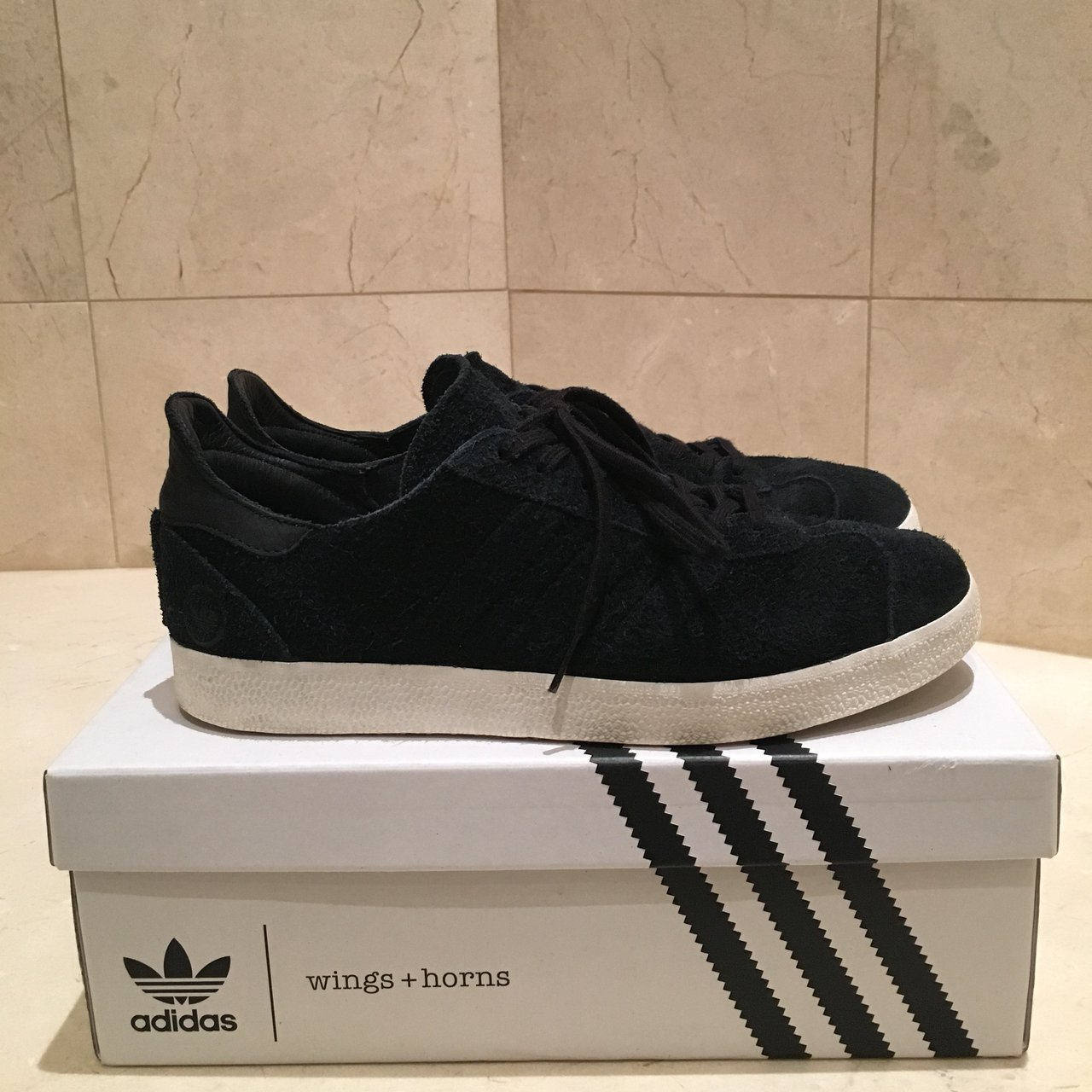 Adidas Campus Wings + Horns collab Size  9 These shoes I - Depop 78872dd06e15