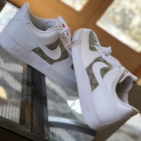 Gucci Air Force 1 Low Custom Size 11 Mens 10 Condition 15