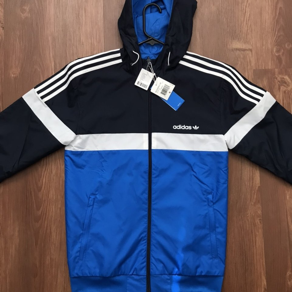 cheaper quality design official photos [ON HOLD] Adidas Itasca reversible Windbreaker... - Depop