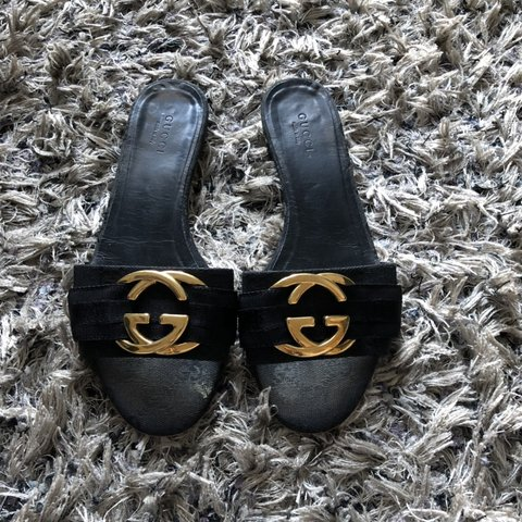 72a9f3f6202 Women s Gucci sandals Size 36 (UK3) Judge condition by ( - Depop