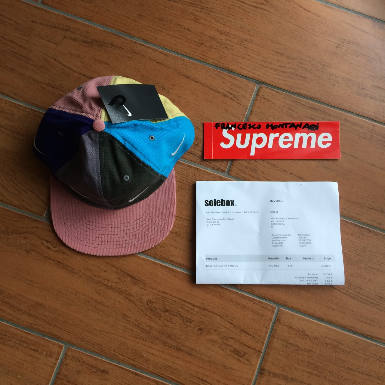 separation shoes d4ee0 c725d Nike Sean Wotherspoon Cap🔥 DS condition✨ Bought from ...