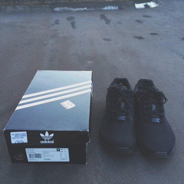 633047151514e ... official adidas zx flux triple black uk 8.5. open to offers nike 1 depop  18ca9
