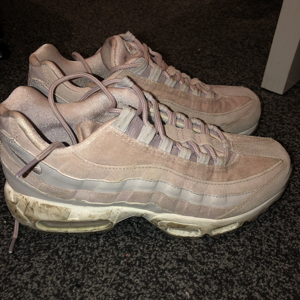 NEED GONE ASAP ~ nike air max 95 ~ particle rose Depop