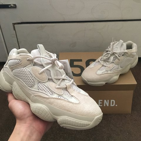 d26c061a3 Yeezy 500 Blush Desert Rat Size UK 8 Won from the END Can - Depop