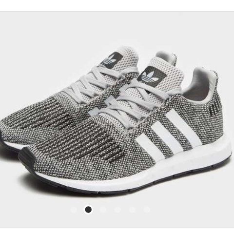 6c7af2b5863f7 Adidas Swift runs in Grey Only worn a couple of times Will - Depop