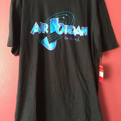 0d0c2654575 @decent_people. last year. Nottingham, United Kingdom. Air Jordan new with  tags black space jam 20th anniversary tee U.K. size ...