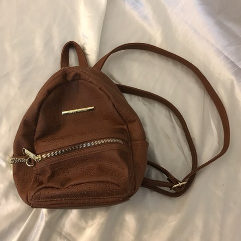16c3acae83 @dontbelievethehyp3. in 7 hours. Citrus Heights, United States. Steve Madden  Mini brown backpack