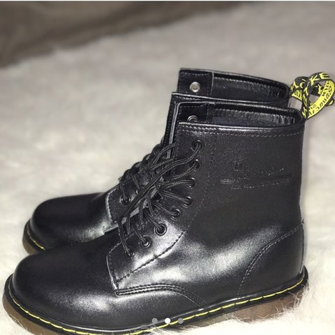 16c38a9df0e brand new black doc martens size 39 European NEVER but brand - Depop