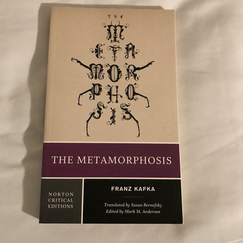 The Metamorphosis By Franz Kafka Perfect For Literary Or Depop