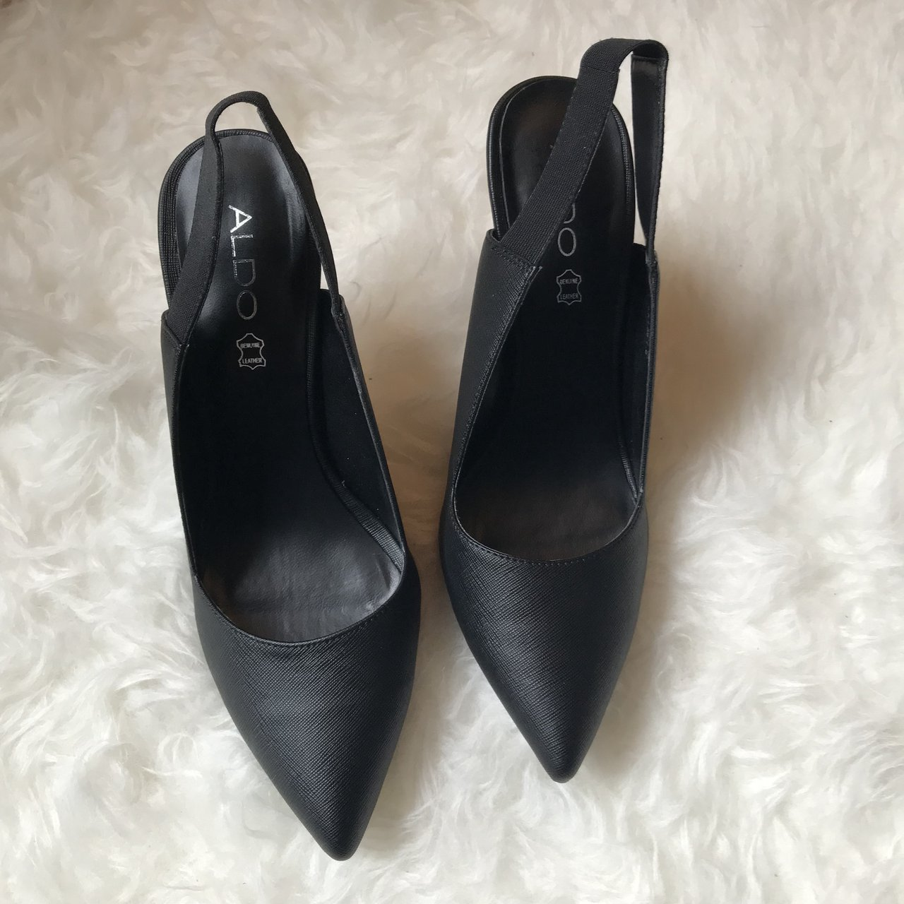 968f0f5ba0a9  nissa907. in 15 hours. United States. Black Aldo sling back