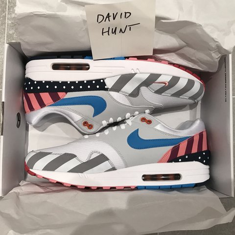 241d403e9c Nike Airmax 1 Parra Size UK12 Deadstock Purchased From 📩 UK - Depop