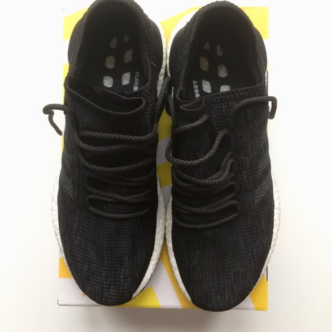 6d5f4152bce8e Adidas Pure Boost Product code  CP9326 Product colour  Core - Depop