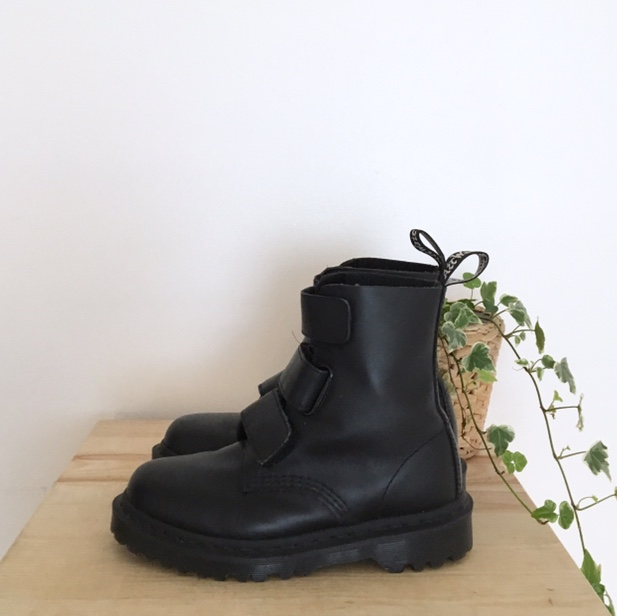 Dr Martens Coralia Venice. Matte Black leather Depop